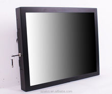 plastic battery powered lcd video monitor taxi lcd advertising screen