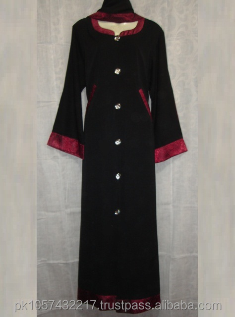 Arabic ladies gown/Muslim plus size nightgown/New abaya 2014 -Latest Muslim Women dubai kaftan abaya