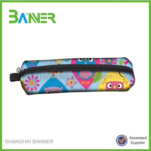 High Performance Cheap Colorful Plastic Pencil Case For School
