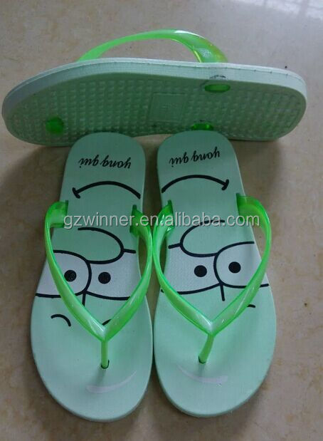 lovely and cheap and fashion women eva flip flop factory China