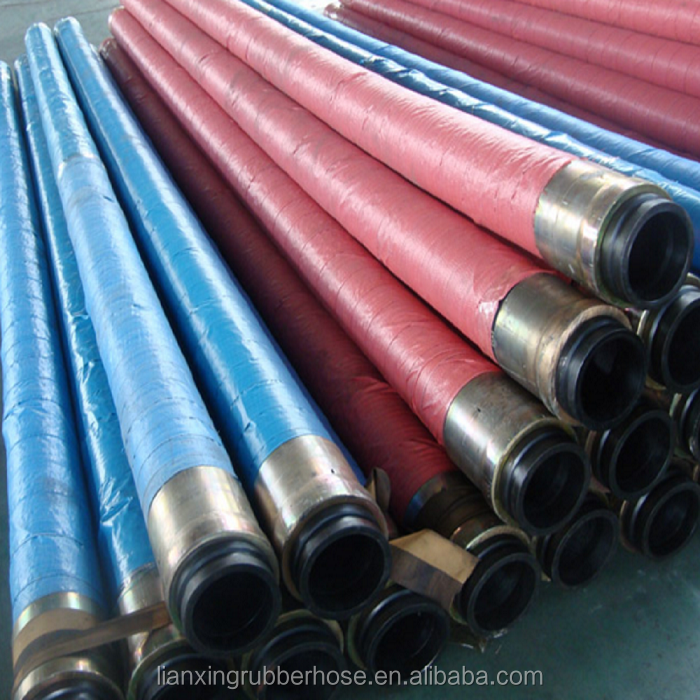 concrete pump rubber hose price/high pressure flexible hose 6 inches