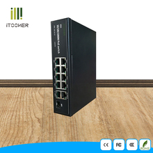 10 port PoE Switch for IP Camera 8 port POE switch
