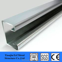 building materials galvanized carbon stainless slotted steel prices C CHANNEL a build unistrut C CHANNEL steel dimensions