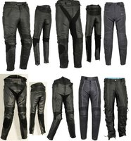 Motorbike Motorcycle Leather Trousers Pants