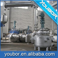Stainless steel chemical industrial batch reactor alkyd resin mixing reactor