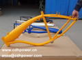 3.75L bicycles frame with petrol engine/2.4L bicycle frames with YELLOW COLOR