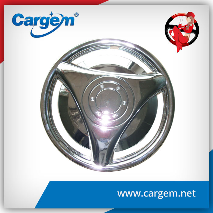 CARGEM ABS Anti Wear Wheel Chrome Hubcaps Cover