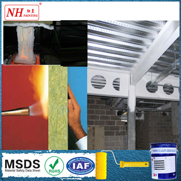 High Temperature Organic Silicon Insulated Paint for exhaust pipes