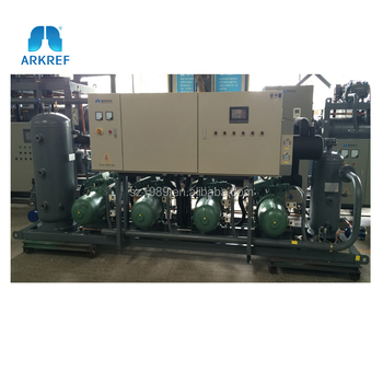 low temperature high efficiency Bitzer screw compressor refrigeration machine