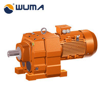 0.16~1028rpm R series small Helical gear reduction gearbox
