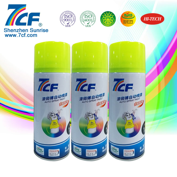 Anti Rust Fluorescent Paint For Decoration Spray Paint