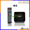 Original hd 1080p 4k Dual Aml-8726 MX tv box 1GB RAM 8GB ROM Android 4.2.2 IPTV Kodi MX internet streaming media player 1080p