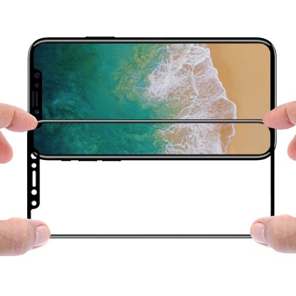 3D curved Screen Guard and Tempered Glass Screen Protector for IPHONE X