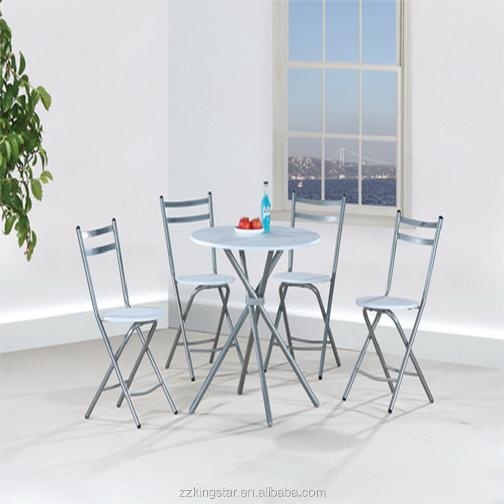 China Dinner Round Dining Table Folding Chair