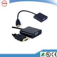 Top selling vga adapter cable 1080 vga cable adapter