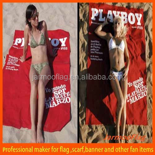 Holiday gift beach towel