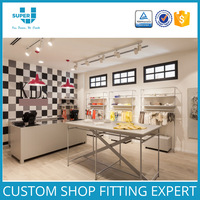 Commercial Design Baby Clothes Shop Interior Design And Children Clothing Shop Display Design For Retail Store