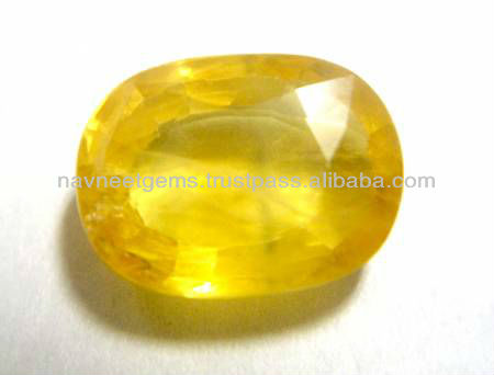 Yellow Sapphire in Loose Gemstone