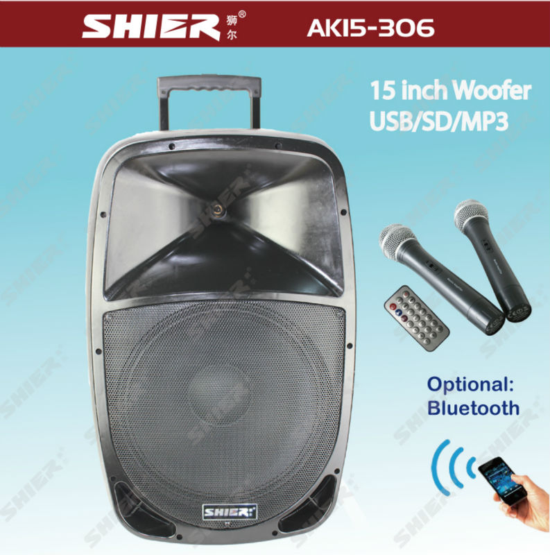 shier wireless portable class h power amplifier with trolley