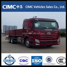 Diesel power cargo truck 360hp heavy lorry