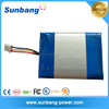 shenzhen deep cycle customized rechargeable 6v lipo battery