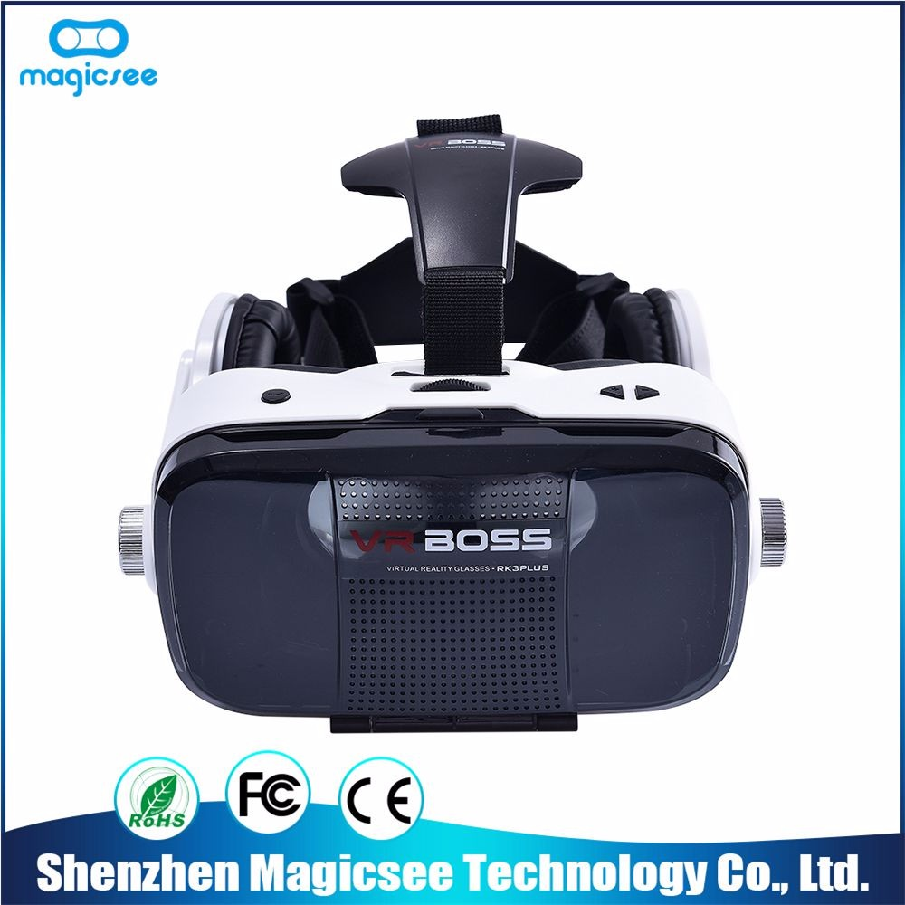 Best Quality virtual glasses 3d virtual reality headset vr boss