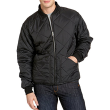 Lastest plus size clothing Winter Quilted Bomber Pilot Jacket Men