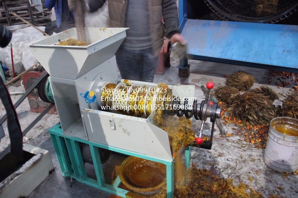 Africa diesel engine palm oil processing machine for sale