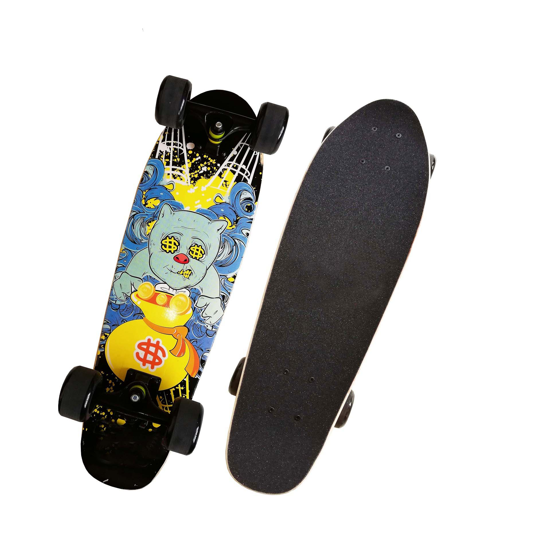 Wholesale maple cruiser skate board custom cruiser skateboard super cruiser