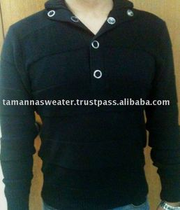Mens polo sport sweater