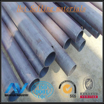 Prime round astm a500 grade c steel pipe
