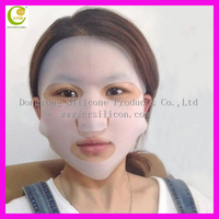 Medical reusable full silicone face mask cover from China