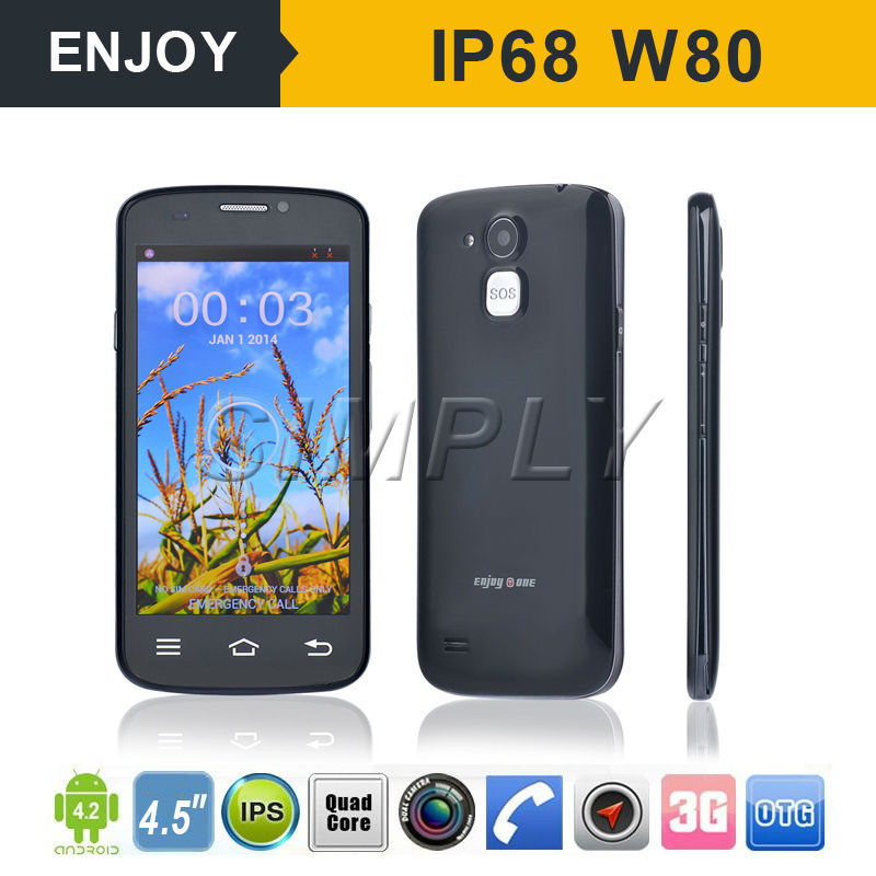 "4.5"" 3G Android Smart Video Call Big Button Mobile Phone with SOS. WIFI. GPS BT4.0"
