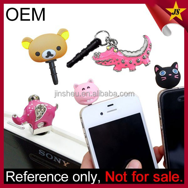 Wholesale Custom Original Mobile Phone Earplug Jack Accessories