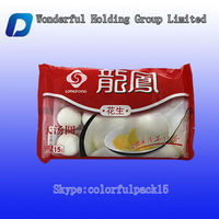 Customized chicken packing/side gusset frozen food packaging bag