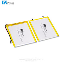 2400mah li ion polymer battery 3.7v for Telecommunications/Portable Devices