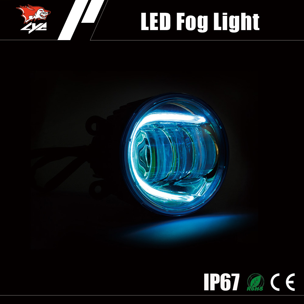 Best products for import auto drl 30W CE LED fog lights for toyota noah