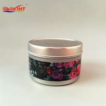 Cobblestone Pouring Metal Lids Tin Candles