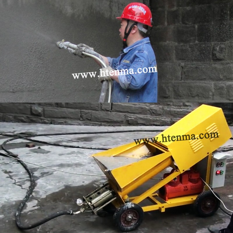 Stator and Rotor Can Bear 300M3 2016 Hot Sale Cement Plastering Machine