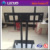 New model LED outdoor modern LCD glass TV stand black lacquer TV stand