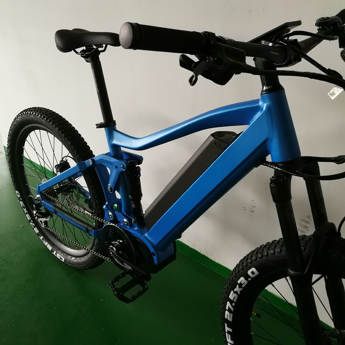 Top quality mountain ebikes with Bafang mid motor from FREY
