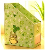 Desktop boxes gift, shelf paper file storage box for office