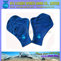 Neoprene web swimming gloves