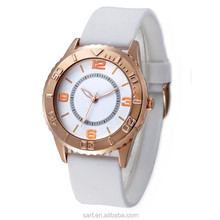 CE and ROSH Approved 2015 New Design Vogue Lady Silicone Watch