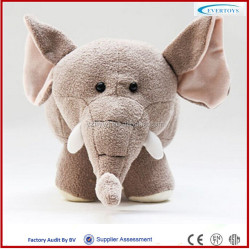 small plush toys lifelike 3d elephant doll