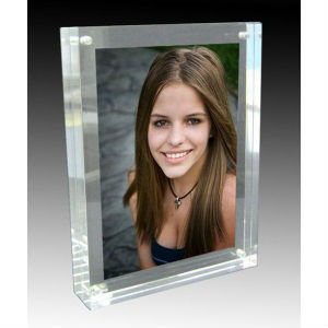 plexiglass metal photo frame/high quality gif digital sex photo frame