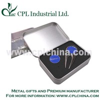 Promotional zinc alloy golf accessory