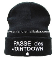 2014 Custom Hats Wholesale Knitted Beanie