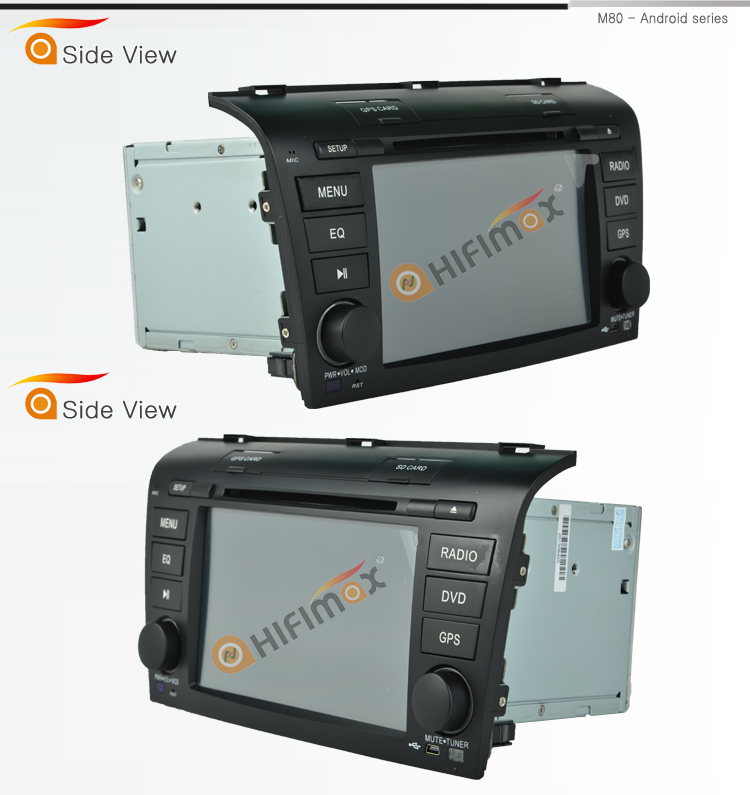 HIFIMAX Mazda 3 with android car radio dvd gps navigation for Mazda 3 car multimedia system special for mazda 3cx-9