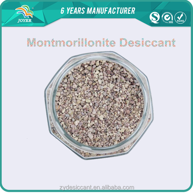 Eco-friendly Natural Montmorillonite Clay desiccant in Cosmetic Grade